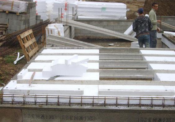 exemple de chantier bonne hauteur de vide sanitaire - Maison Sans Vide Sanitaire Humidit